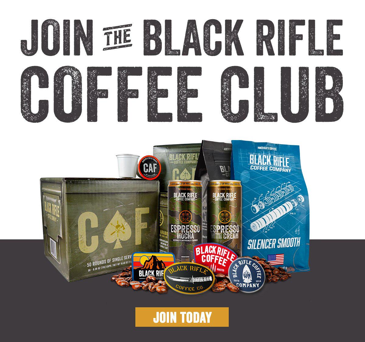 Join the Black Rifle Coffee Club
